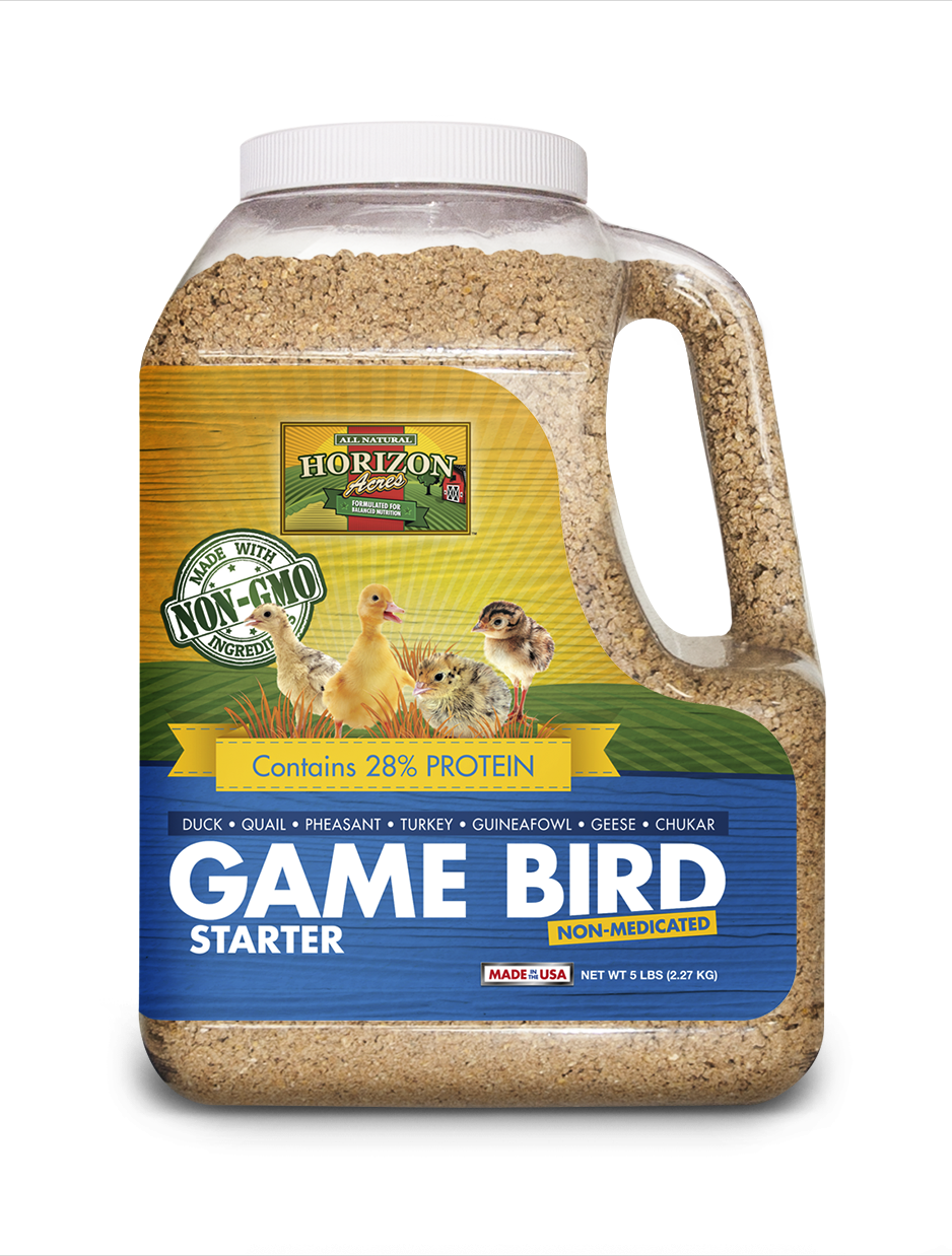 Non-GMO Game Bird Starter