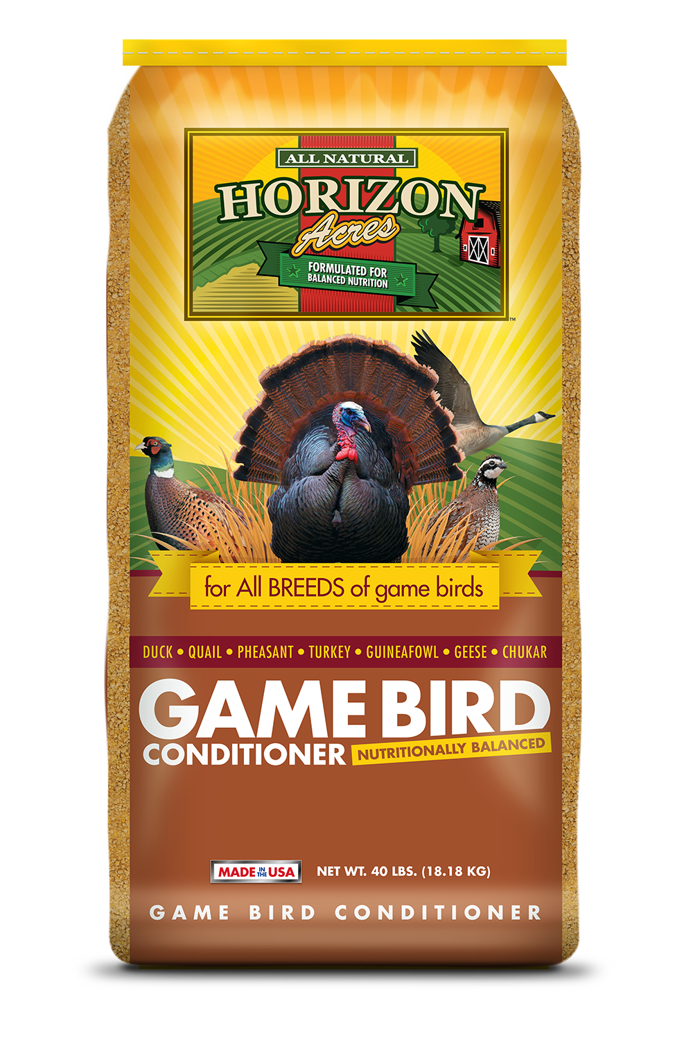Horizon Acres Game Bird Conditioner Bag