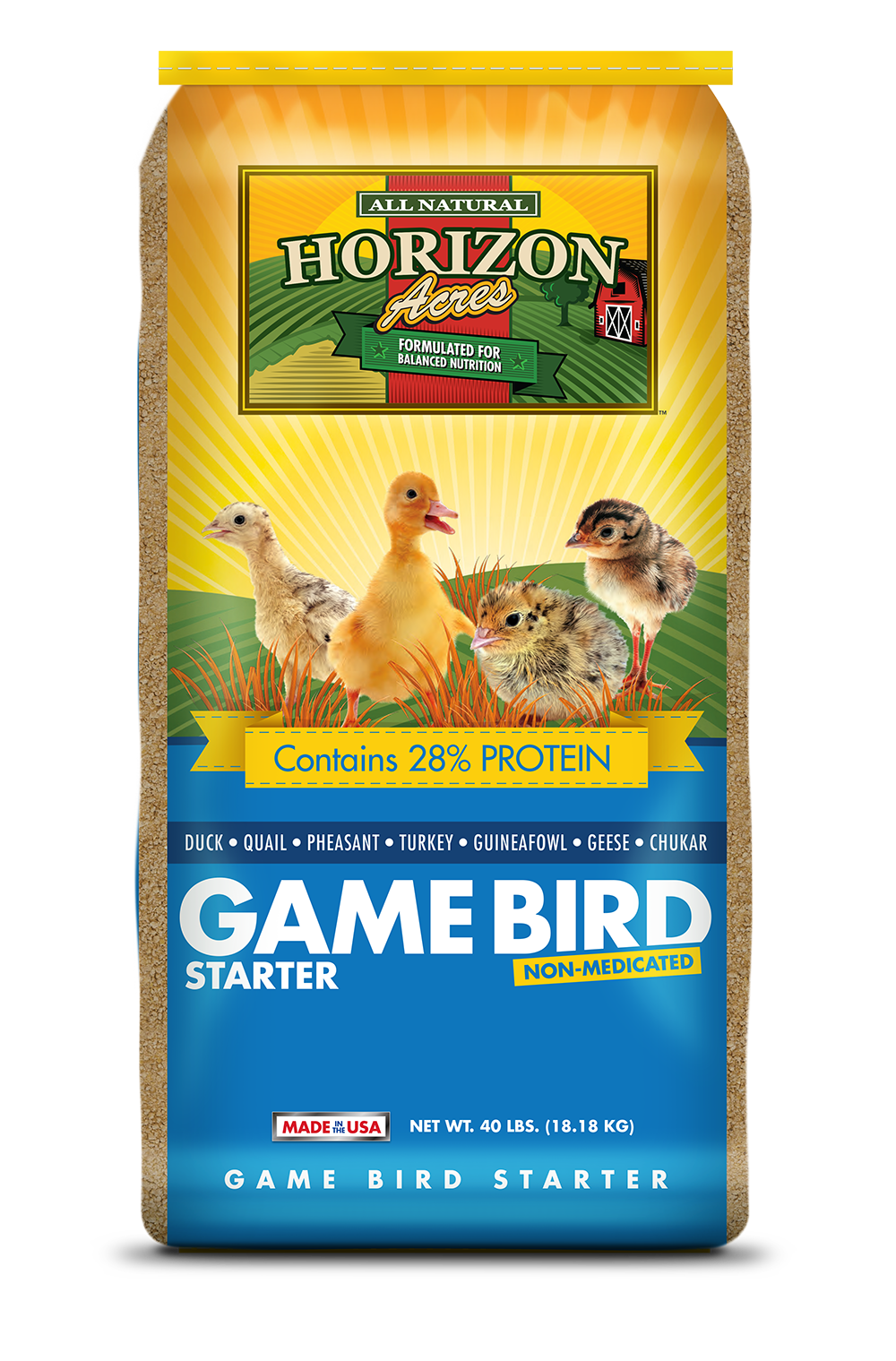 Horizon Acres Game Bird Starter Bag