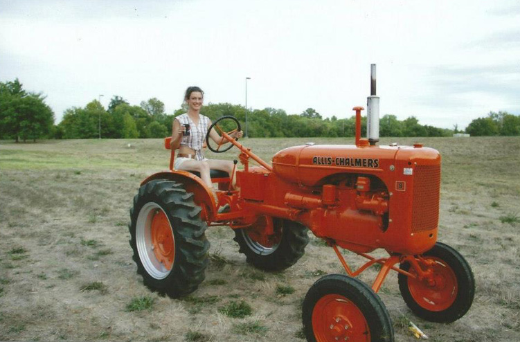 On the Tractor- Fenton, MO