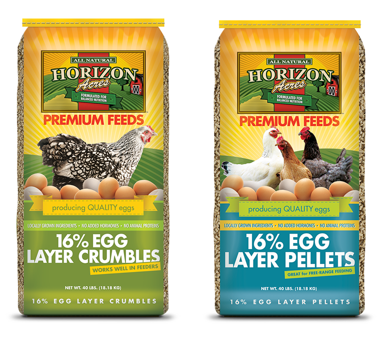 16% Egg Layer Pellets and Crumbles
