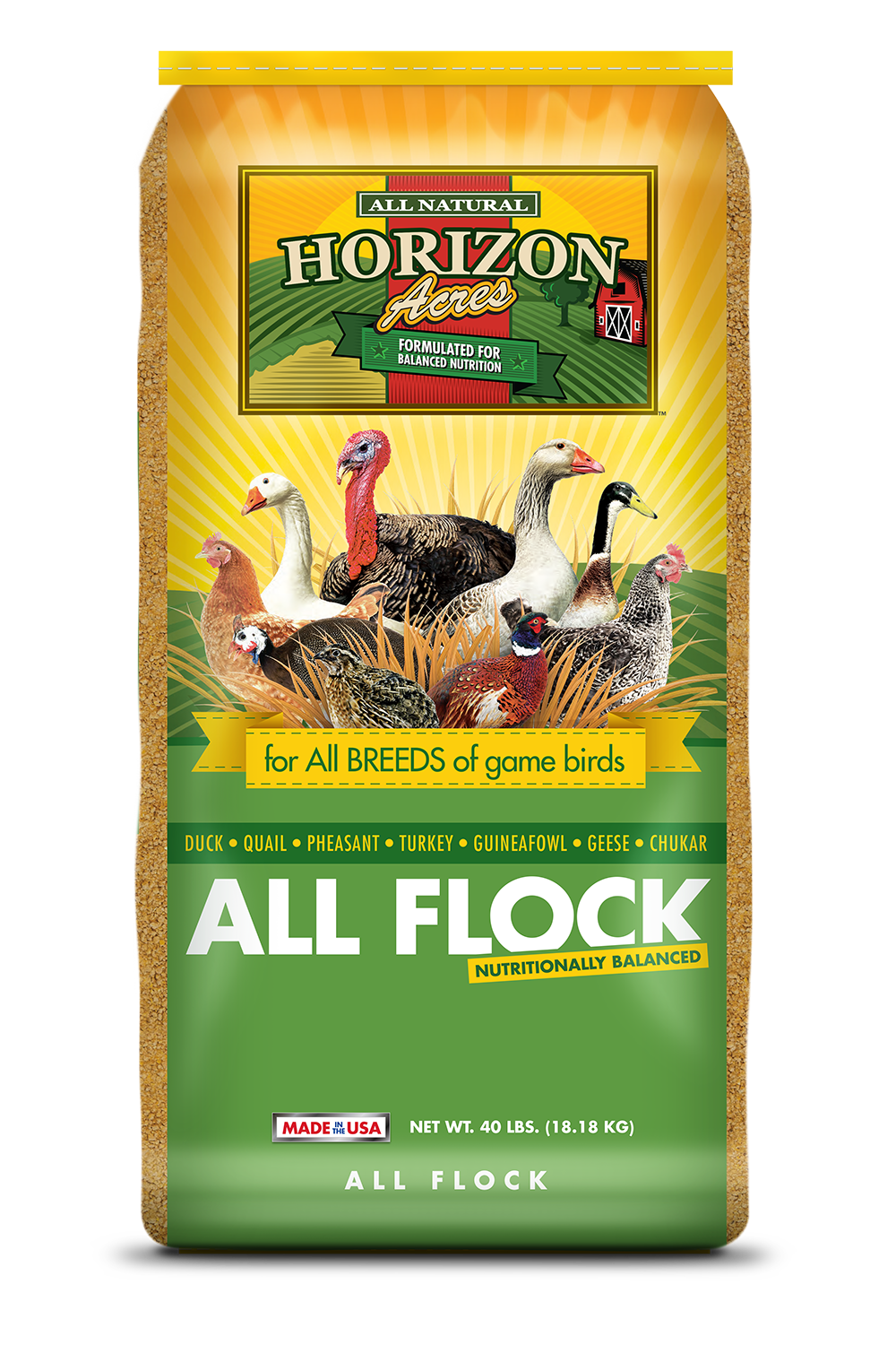 Horizon Acres Game All Flock Bag