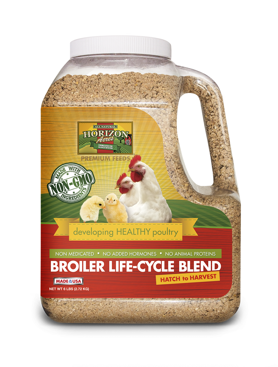 Non-GMO Broiler Life-Cycle Blend