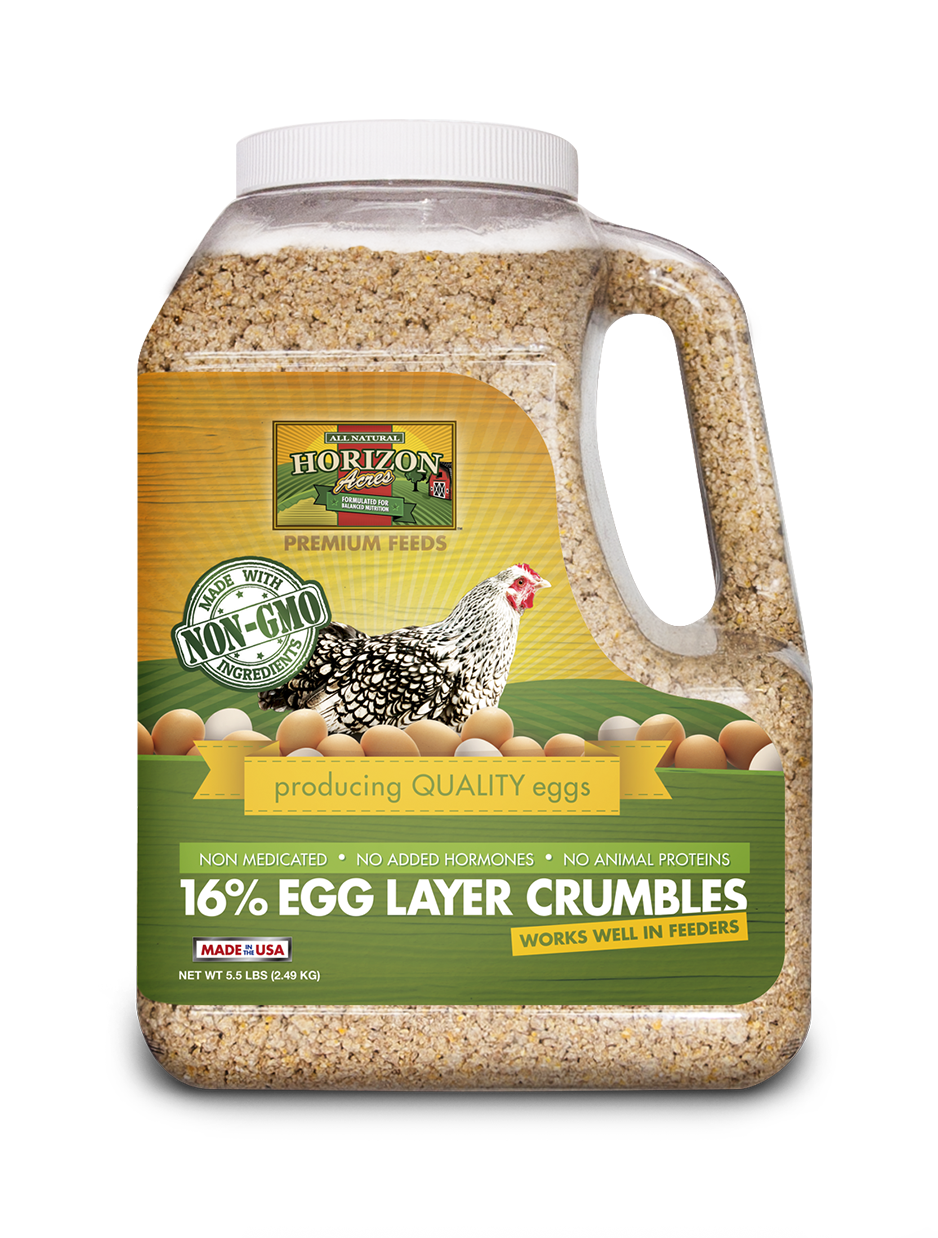 Non-GMO 16% Egg Layer Crumbles